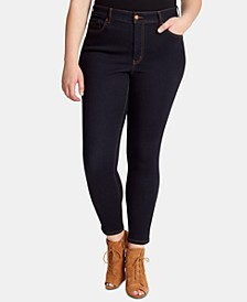 Trendy Plus Size Curvy High-Rise Skinny Jeans