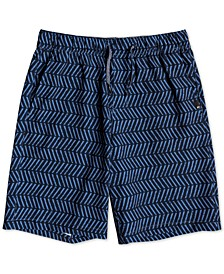 Big Boys Amphibian Printed Shorts