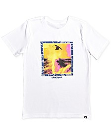Big Boys Wave-Print Cotton T-Shirt
