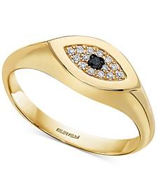 EFFY® Diamond Accent Evil Eye Ring in 14k Gold