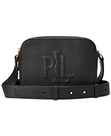 Lauren Ralph Lauren Hayes Pebbled Leather Crossbody