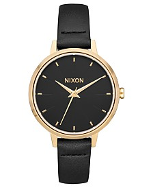 Nixon Women's Medium Kensington Leather Strap Watch 32mm