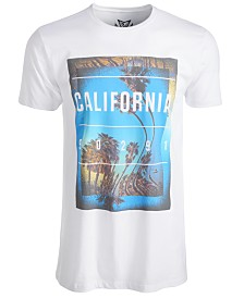 Univibe Men's California Graphic T-Shirt