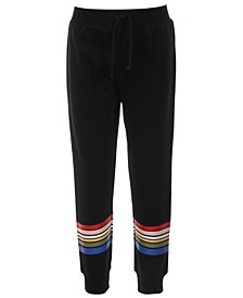 Little Girls Striped Sweatpants, Created for Macy's