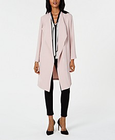 Wing-Collar Topper Jacket