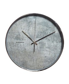 Cloudnola Structure Cement Wall Clock