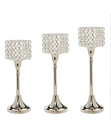 Hurricane Candle Holders Set of 3