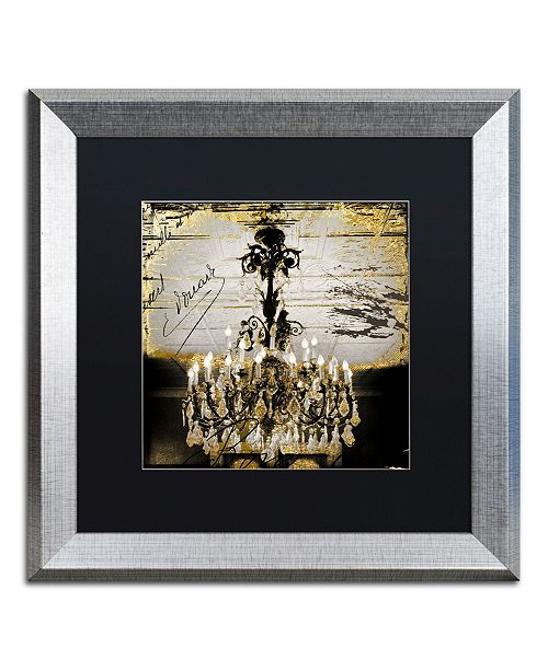 """Trademark Global Color Bakery 'Chand 1' Matted Framed Art - 16"""" x 16"""""""
