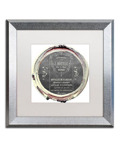 "Trademark Global Color Bakery 'Paris in Frames 8' Matted Framed Art - 16"" x 16"""