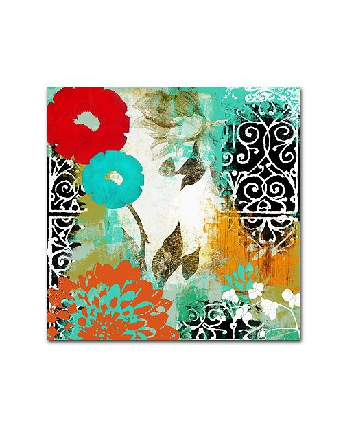 "Trademark Global Color Bakery 'Bali I' Canvas Art - 35"" x 35"""
