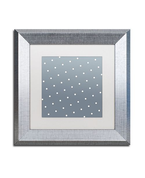 "Trademark Global Color Bakery 'Set 1 B' Matted Framed Art - 11"" x 11"""
