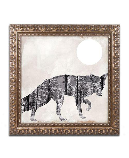 """Trademark Global Color Bakery 'Going Wild VII' Ornate Framed Art - 11"""" x 11"""""""