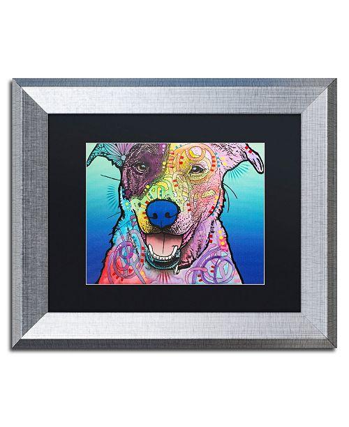 """Trademark Global Dean Russo 'Matilda Custom 003' Matted Framed Art - 11"""" x 14"""""""