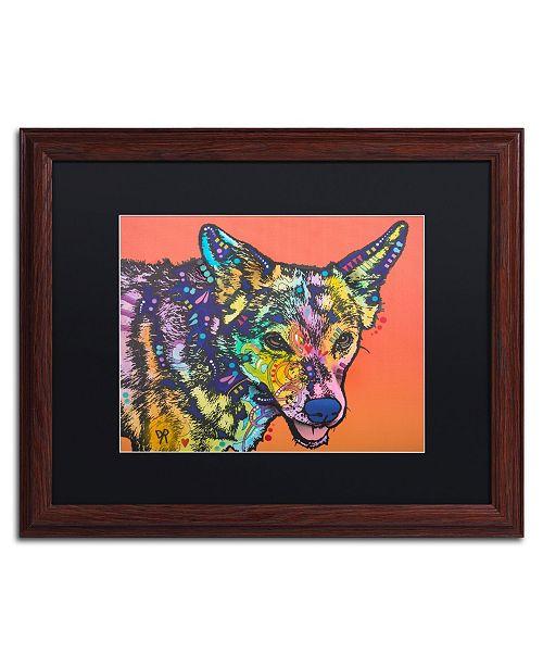 "Trademark Global Dean Russo 'Max' Matted Framed Art - 16"" x 20"""