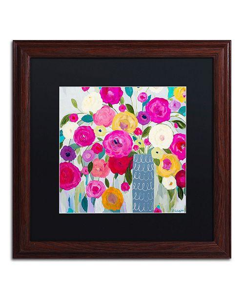 """Trademark Global Carrie Schmitt 'Where Love Resides' Matted Framed Art - 16"""" x 16"""""""
