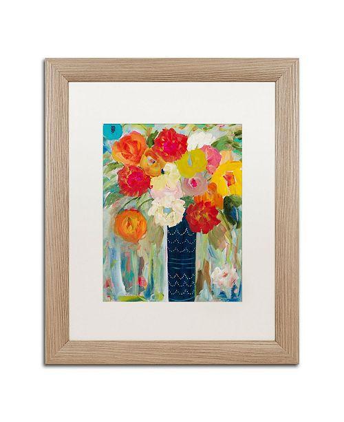"""Trademark Global Carrie Schmitt 'Here Comes The Sun' Matted Framed Art - 16"""" x 20"""""""