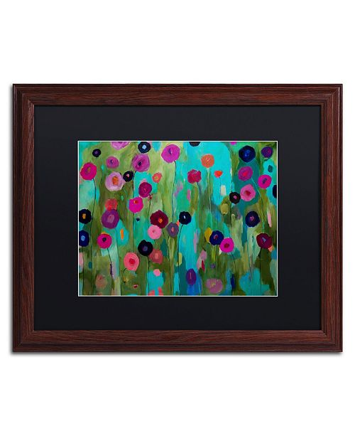 "Trademark Global Carrie Schmitt 'Time To Bloom' Matted Framed Art - 16"" x 20"""