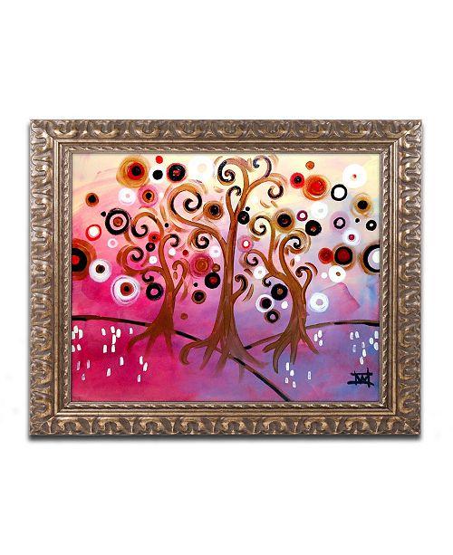 "Trademark Global Natasha Wescoat '029' Ornate Framed Art - 11"" x 14"""
