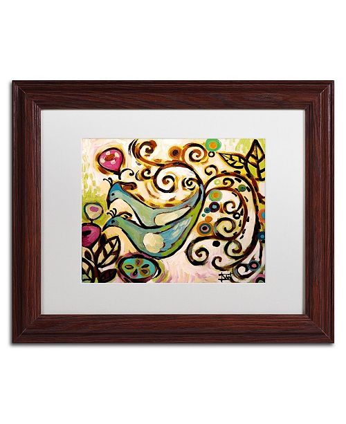 "Trademark Global Natasha Wescoat '045' Matted Framed Art - 11"" x 14"""