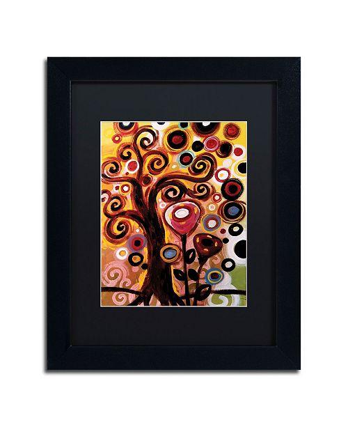 "Trademark Global Natasha Wescoat '059' Matted Framed Art - 11"" x 14"""