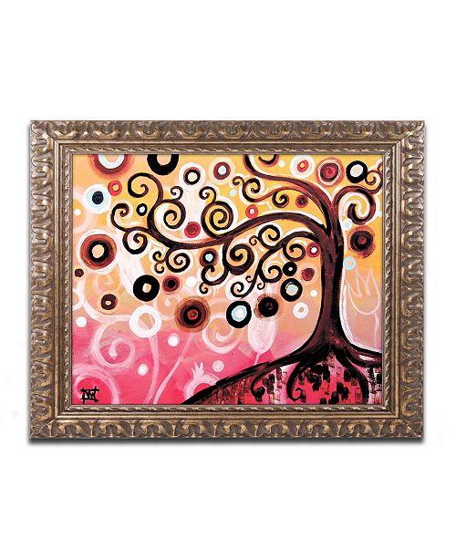 "Trademark Global Natasha Wescoat '062' Ornate Framed Art - 11"" x 14"""