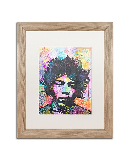 "Trademark Global Dean Russo 'Hendrix 6 Was 9' Matted Framed Art - 16"" x 20"""