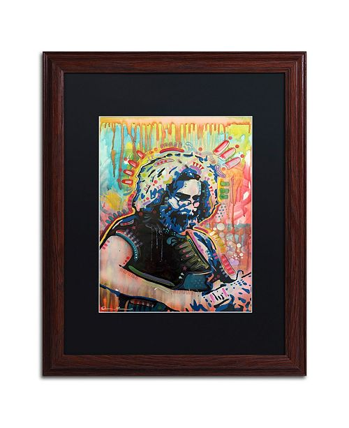 "Trademark Global Dean Russo 'Jerry 3' Matted Framed Art - 16"" x 20"""