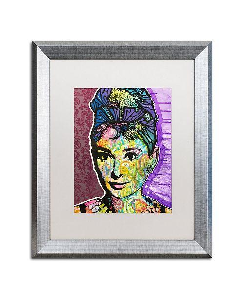 """Trademark Global Dean Russo 'Audrey 2' Matted Framed Art - 16"""" x 20"""""""
