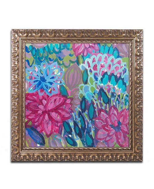 "Trademark Global Carrie Schmitt 'Karma' Ornate Framed Art - 16"" x 16"""