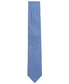 BOSS Men's Italian-Made Micro-Print Tie