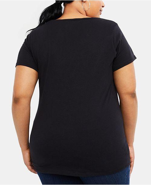 1bec331f87ff8 Motherhood Maternity Plus Size Pocket T-Shirt & Reviews - Maternity ...