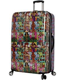 """Betsey Johnson 30"""" Hardside Expandable Spinner Suitcase"""