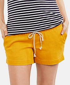 Maternity Drawstring Shorts