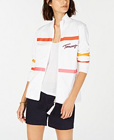Striped Jacket, Created for Macy's