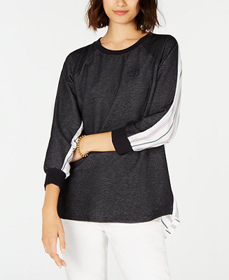 Striped Back Logo Top, Created For Macy's by General