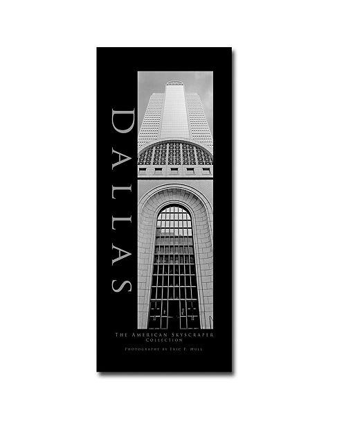 "Trademark Global Dallas by Prestonl Canvas Art - 47"" x 20"""