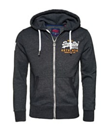 Superdry Vintage-like Authentic Duo Zip Hoodie