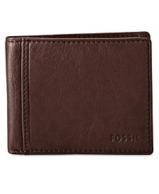 Ingram Bifold with Flip ID Leather Wallet