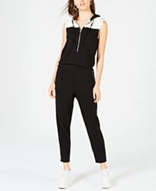 Juicy Couture Colorblocked Track Jumpsuit