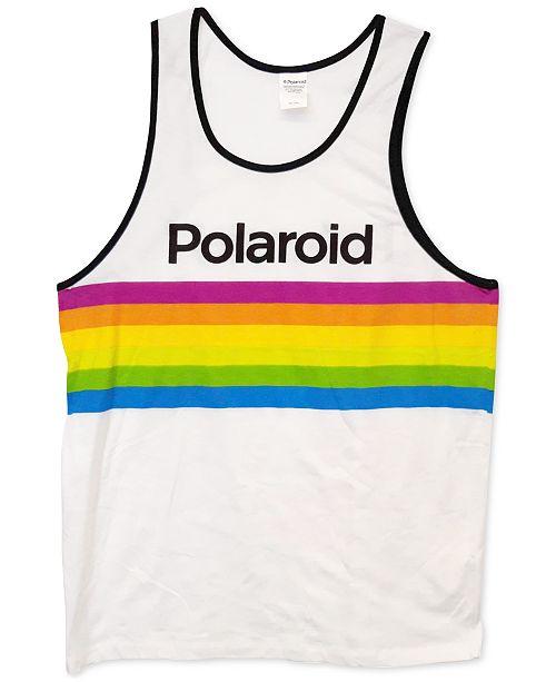 Changes Polaroid Men's Logo Tank