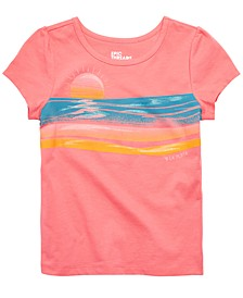 Little Girls Sunset T-Shirt, Created for Macy's