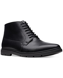 Bostonain Men's Luglite Mid Plain-Toe Waterproof Casual Boots