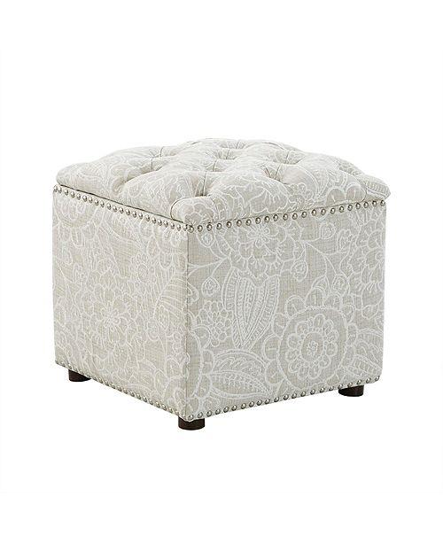 Furniture Palisade Storage Ottoman