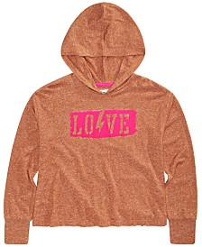 Epic Threads Big Girls Love Hoodie, Created for Macy's