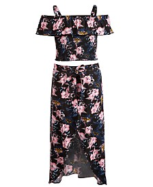 Epic Threads Big Girls 2-Pc. Ruffled Top & Maxi Skirt Set, Created for Macy's