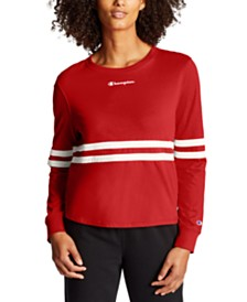 Champion Heritage Striped Long-Sleeve T-Shirt