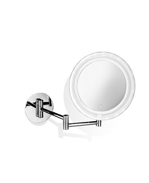 WS Bath Collections Wall Mounted Lighted Magnifying Mirror Collection