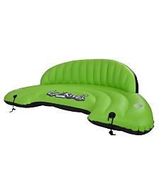 Blue Wave Sports Lazy River Inflatable Swim Sofa Float