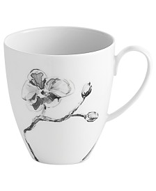 Michael Aram Dinnerware, Black Orchid Mug
