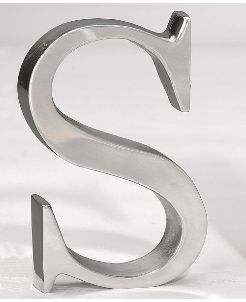 """St. Croix KINDWER 6"""" Aluminum Letter S"""
